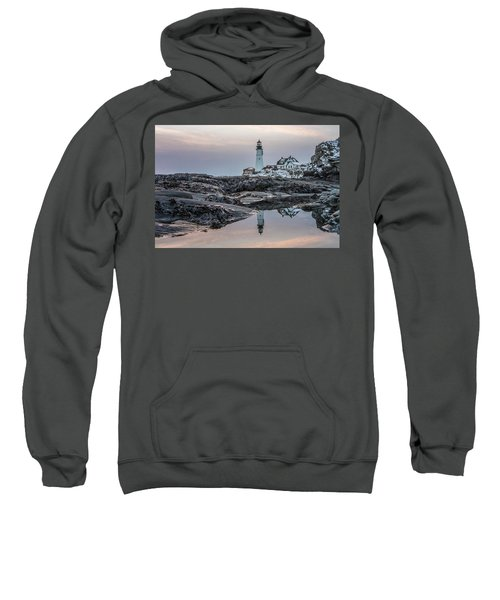 Portland Head Light Reflection Sweatshirt