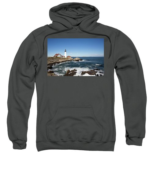 Portland Head Lighthouse Maine Sweatshirt