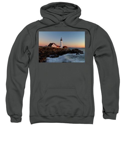 Portland Head Lighthouse Sunrise Sweatshirt