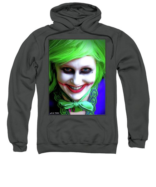 Portrait Of A Joker Sweatshirt