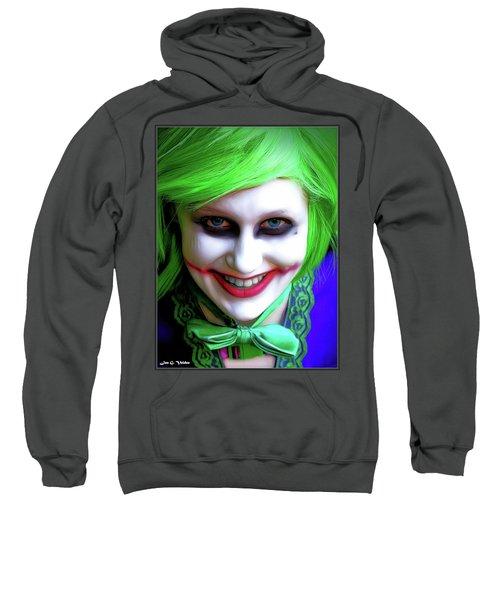 Portrait Of A Joker Sweatshirt