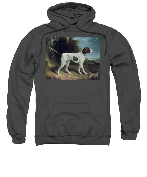 Portrait Of A Liver And White Pointer Sweatshirt