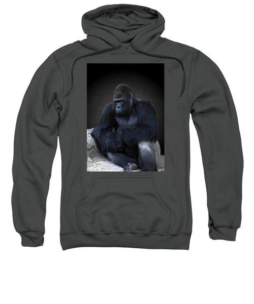 Portrait Of A Male Gorilla Sweatshirt