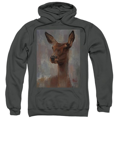 Portrait Of A Young Doe Sweatshirt