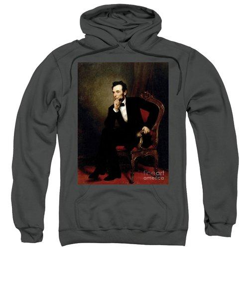 Portrait Of Abraham Lincoln, 1869  Sweatshirt