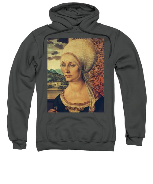 Portrait Of Elisabeth Tucher Sweatshirt