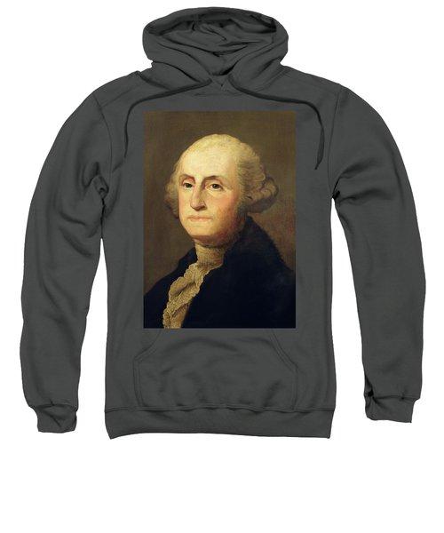 Portrait Of George Washington Sweatshirt
