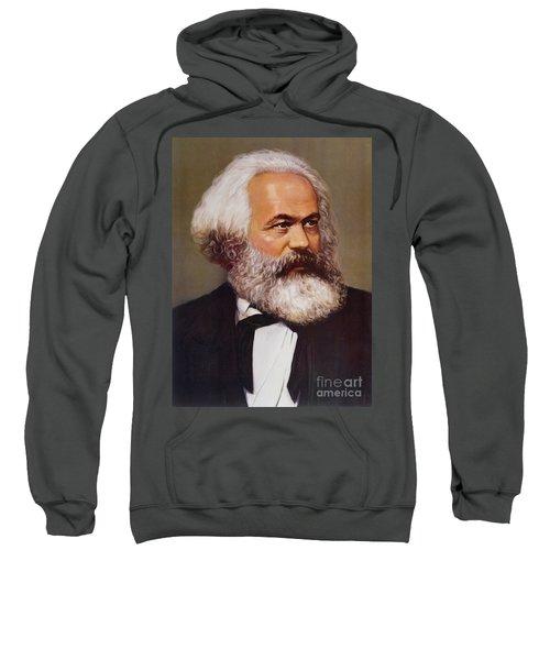 Portrait Of Karl Marx Sweatshirt