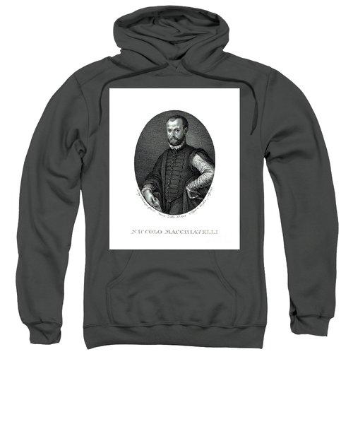 Portrait Of Niccolo Machiavelli  Sweatshirt