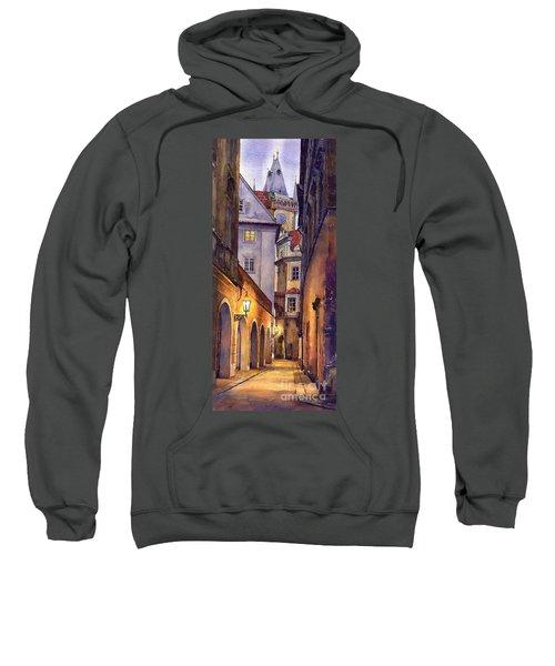 Prague Old Street  Sweatshirt