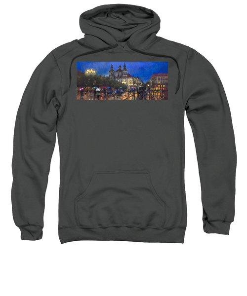 Prague Old Town Square St Nikolas Ch Sweatshirt