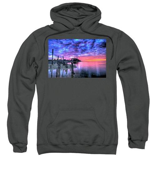 Pre Dawn At St. Marks #1 Sweatshirt
