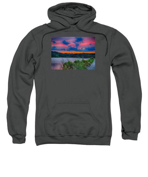Pre-sunset At Hbsp Sweatshirt