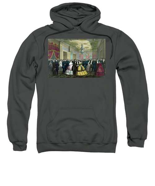 President Lincoln's Last Reception Sweatshirt
