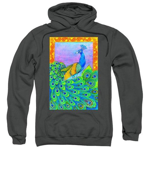 Pretty Peacock Sweatshirt