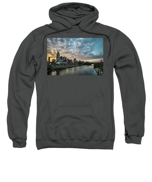 Pretty Sky And Nashville Skyline Sweatshirt