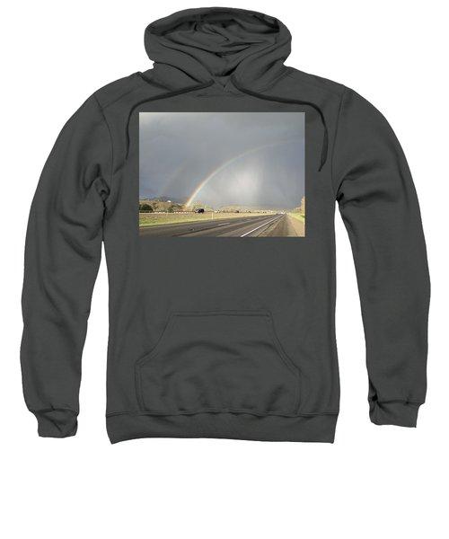 Primary And Secondary Rainbow Sweatshirt