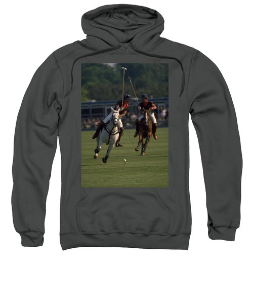 Prince Charles Playing Polo Sweatshirt