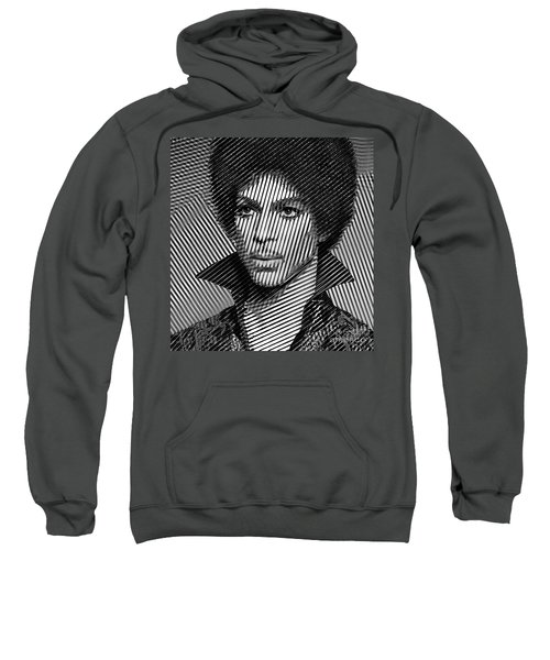 Prince - Tribute In Black And White Sketch Sweatshirt