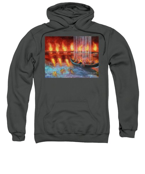Prophetic Message Sketch 45 Preparing For The Day Sweatshirt