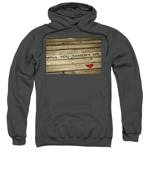 Propose To Me Sweatshirt