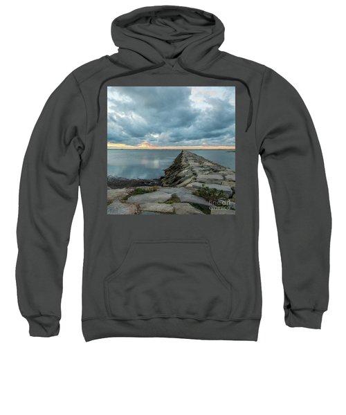 Provincetown Breakwater #3 Sweatshirt