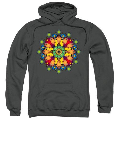 Psychedelic Mandala 009 A Sweatshirt