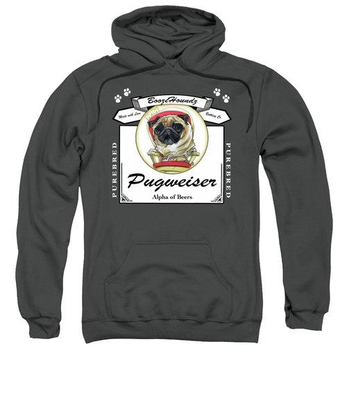 Pugweiser Beer Sweatshirt