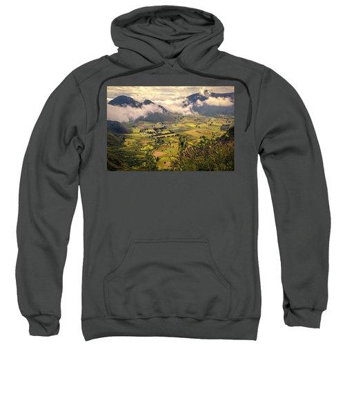 Pululahua Volcano Sweatshirt