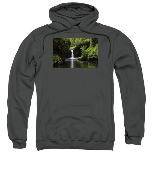 Punchbowl Falls Signed Sweatshirt