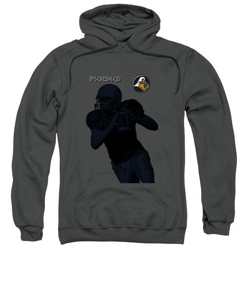 Purdue Football Sweatshirt by David Dehner