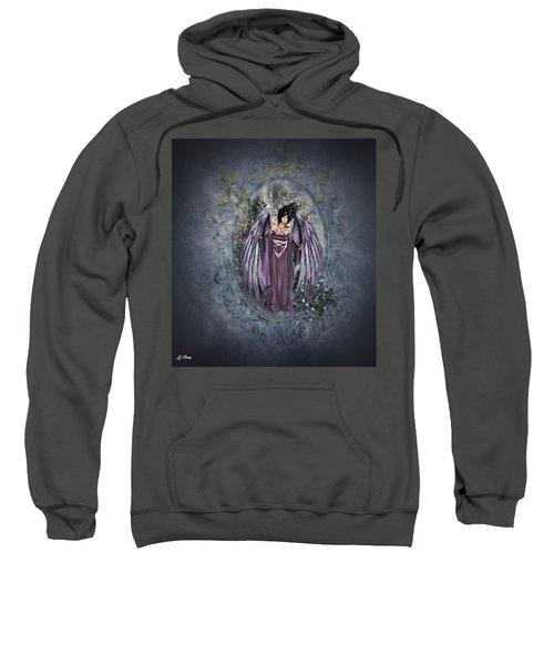 Purple Angel Sweatshirt