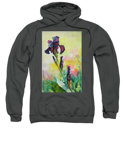 Purple Iris Sweatshirt