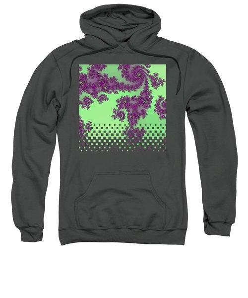 Purple Lace Sweatshirt
