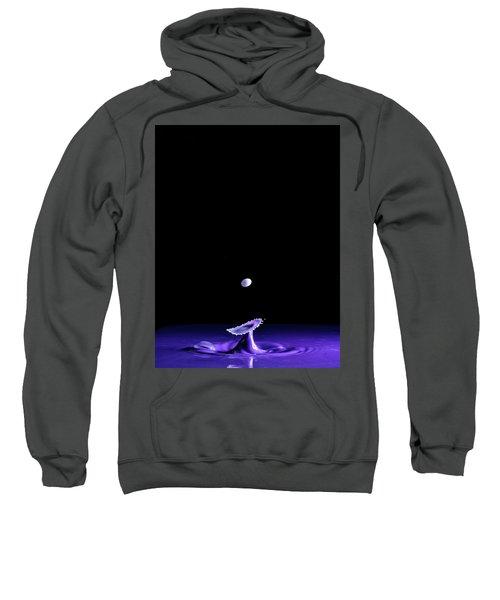 Purple Mushroom Sweatshirt