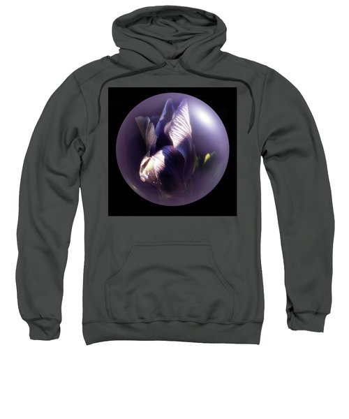 Purple Orb Iris Sweatshirt