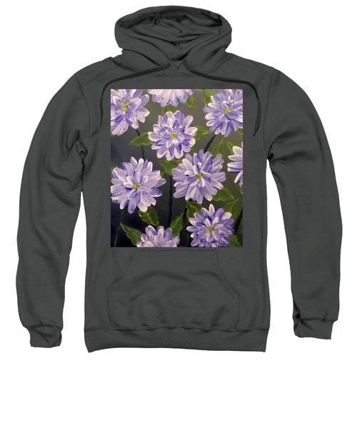 Purple Passion Sweatshirt by Teresa Wing