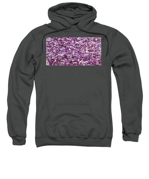 Purple Splatter Sweatshirt