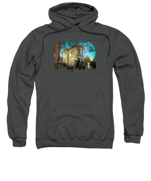 House With The Purple Swing Sweatshirt