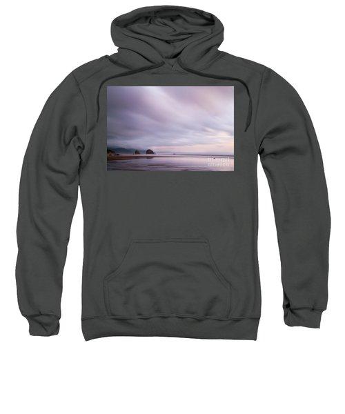 Purple Wisp In The Morning Sweatshirt
