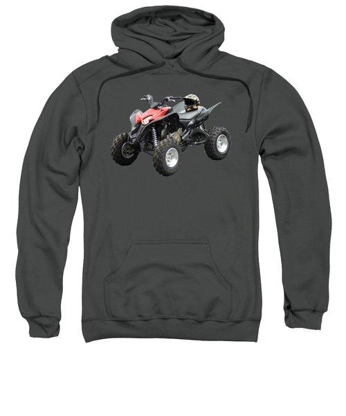 Quad Bike And Helmet Sweatshirt