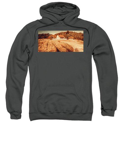 Quaint Country Cottage Sweatshirt