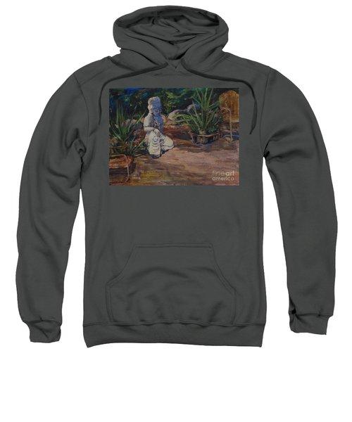 Quan Yin's Sitting Area Sweatshirt