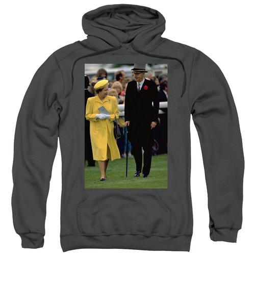 Queen Elizabeth Inspects The Horses Sweatshirt