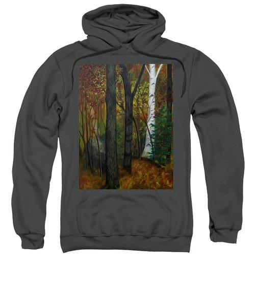 Quiet Autumn Woods Sweatshirt