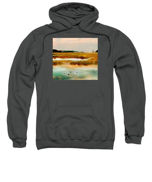 Racing The Tide Sweatshirt