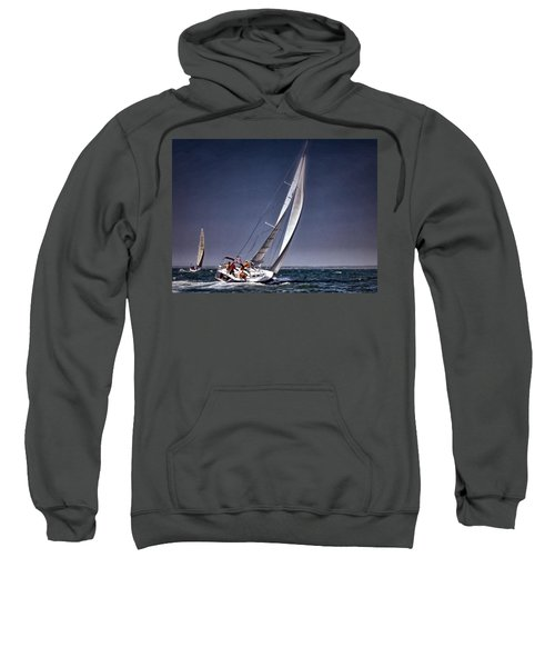 Racing To Nantucket Sweatshirt