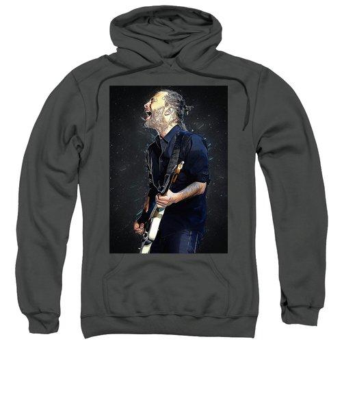 Radiohead - Thom Yorke Sweatshirt by Semih Yurdabak