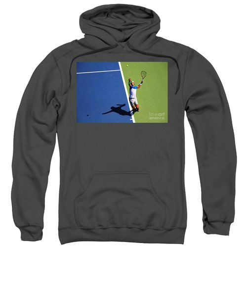 Rafeal Nadal Tennis Serve Sweatshirt