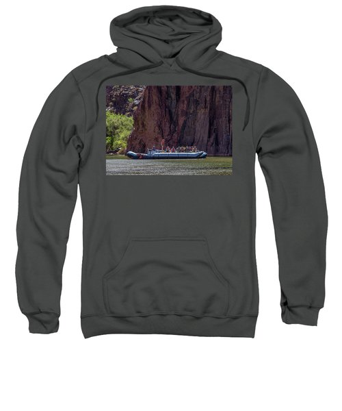 Rafters On The Colorado River, Grand Canyon Sweatshirt